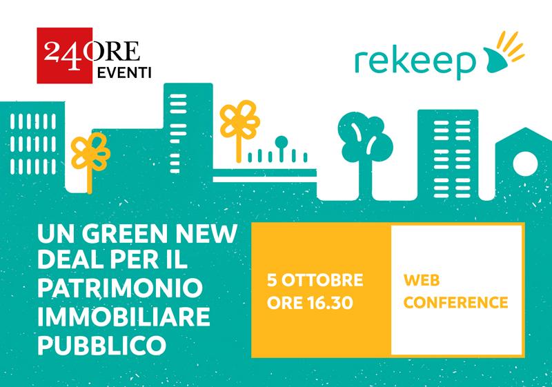 Un Green New Deal per il patrimonio immobiliare pubblico - Web Conference