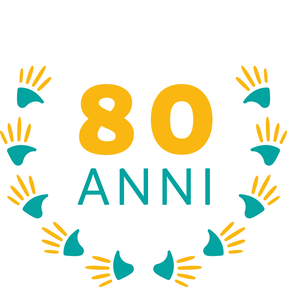 logo 80° anniversario