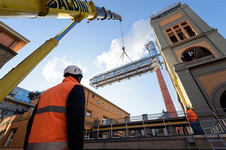 Riqualificazione energetica al Policlinico  Sant'''Orsola - Malpighi di Bologna
