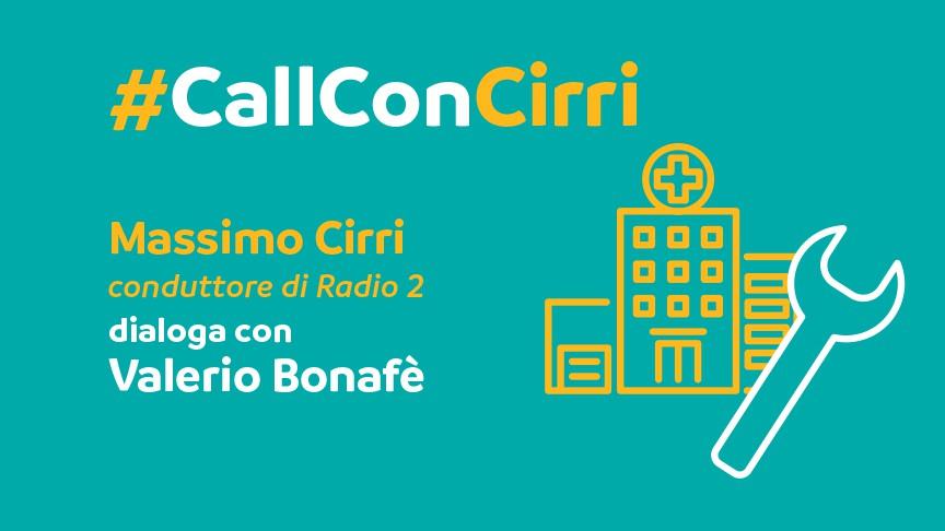Massimo Cirri dialoga con Valerio Bonafè