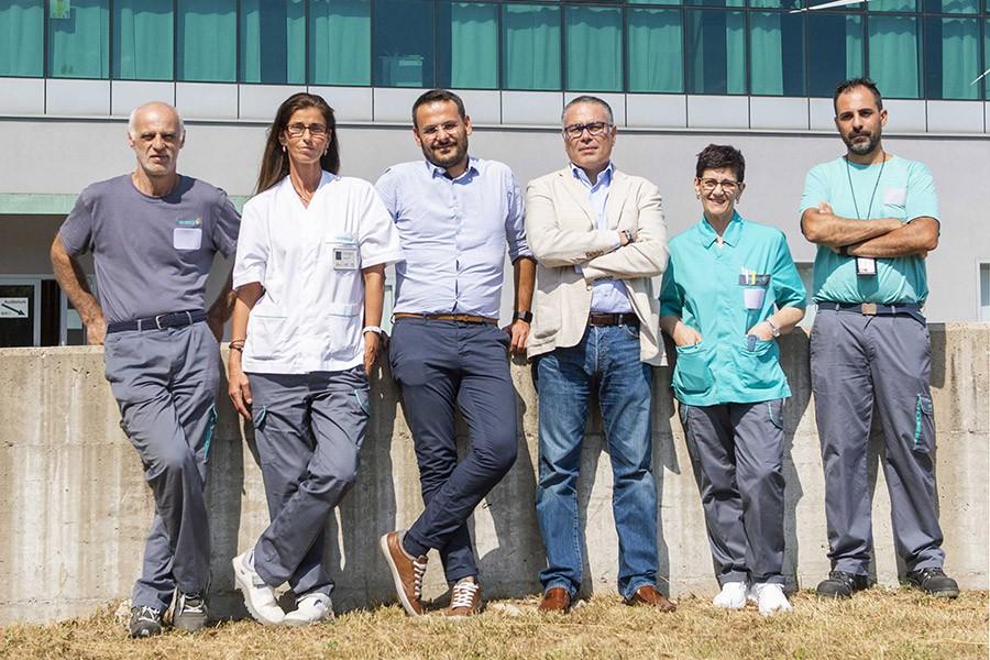 Il nostro lavoro all'ospedale Sant'Anna di Como: un esempio dell'eccellenza delle soluzioni Rekeep per la sanità