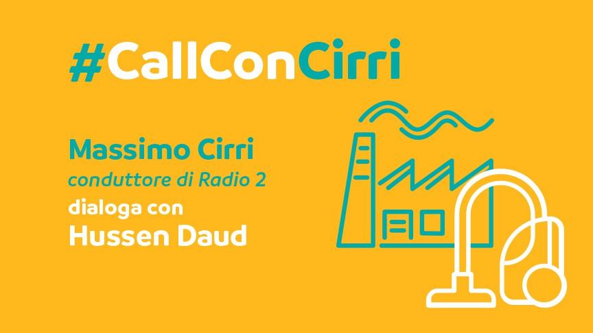 Massimo Cirri dialoga con Hussen Daud