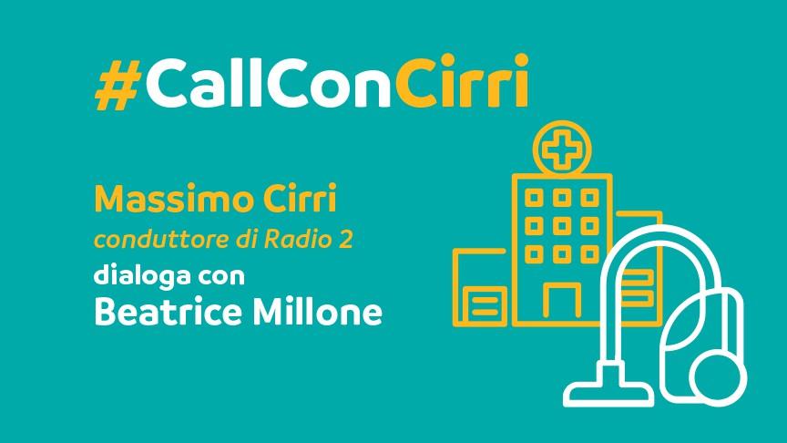 Massimo Cirri dialoga con Beatrice Millone