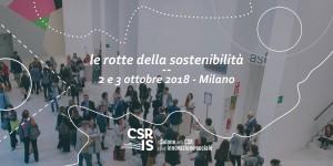 Le rotte della sostenibilità - 2 e 3 ottobre 2018, Milano