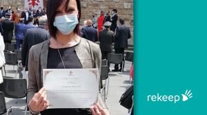 """Onorificenze """"Firenze 2020"""" assegnate anche agli operatori Rekeep"""